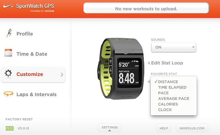 Nike+ SportWatch GPS by TomTom