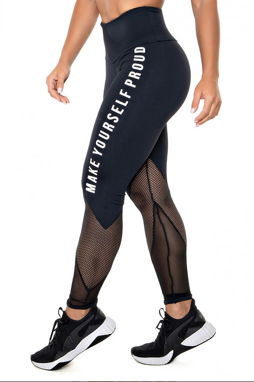 LEGGINGS IN POLYAMIDE SUPPLEX AND RUBBER PRINT TO MAKE YOURSELF STAND OUT