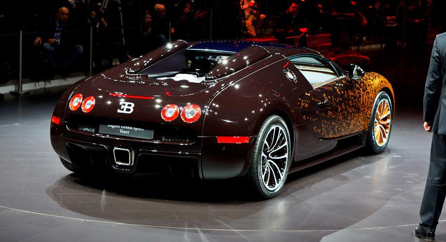 Суперкар Bugatti Veyron Grand Sport