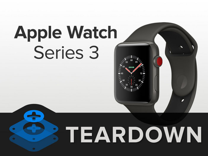 Разбираем Apple Watch Series 3 ​на massinfo.info