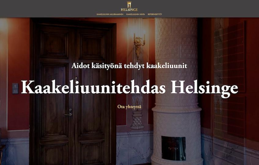 Kaakeliuunitehdas Helsinge