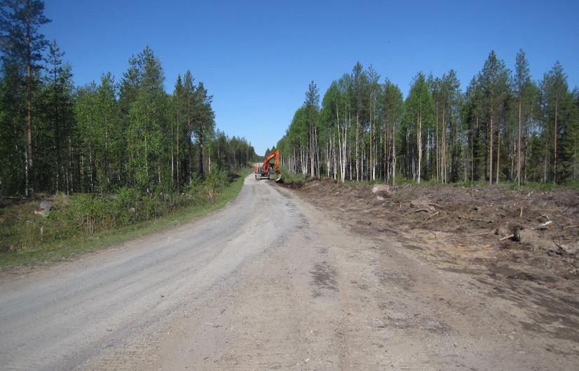 Pohjois-Iin metsätiehankkeen luovutus ja tiekunnan vuosikokous