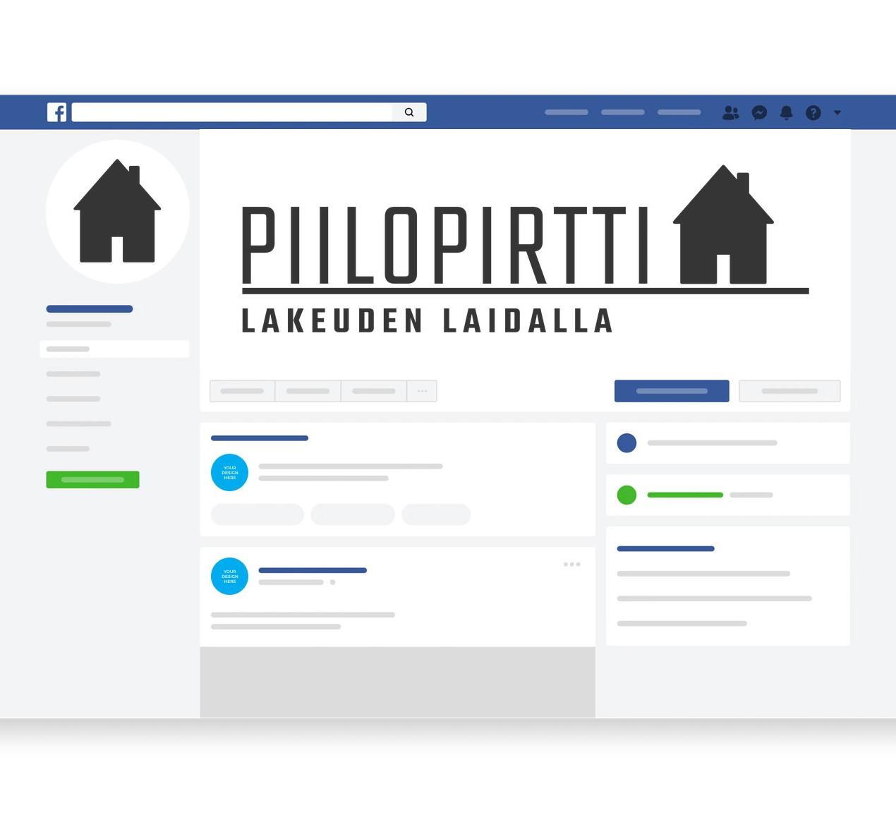 Hannuksen Piilopirtti logo