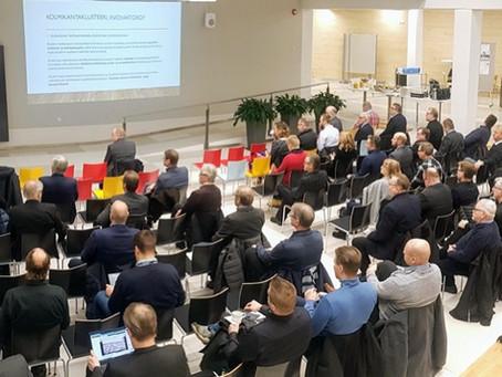 Pohjois-Suomen Rakentajapäivä ja Paras Rakennusteko Palkinto 2019