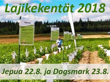 Finpomin lajikkeet esillä Jepualla 22.8. ja Dagsmarkissa 23.8.