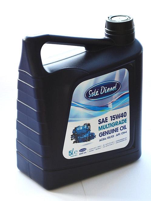 Solé Diesel moniasteöljy SAE15W40, Solé motorolja, engine oil
