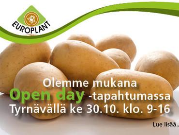 Siemenperunatalojen Open day -tapahtuma Tyrnävällä 30.10.