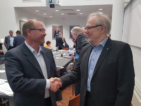 Marko Palonen nousi rakennusklusterin uudeksi puheenjohtajaksi