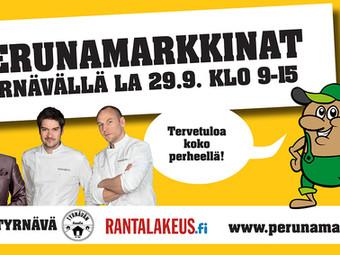 28. Perunamarkkinat Tyrnävällä 29.9.2018