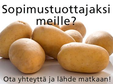 Sopimusviljelijäksi Finpom Oy:lle