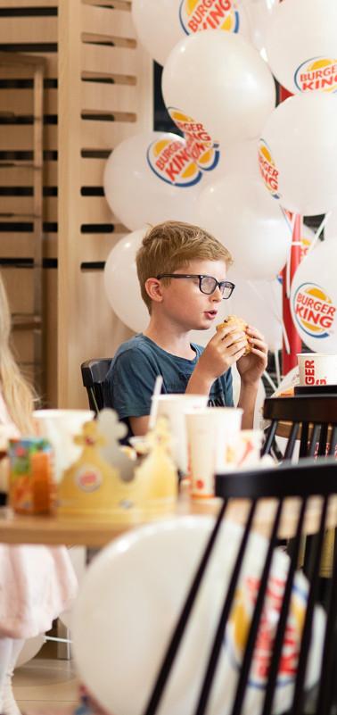 Burger King tapahtumakuvaus