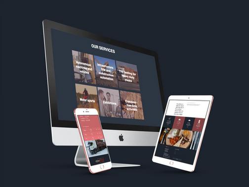 OuluZone+ verkkosivut