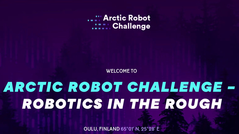 Upcoming: Arctic Robot Challenge -Event
