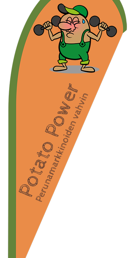 Beachflags Potato Power