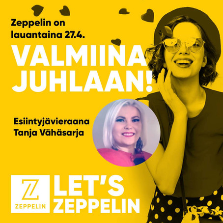 Valmiina juhlaan -tapahtuma 27.4.2019 Kauppakeskus Zeppelinissä