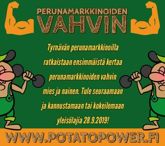 Potato Power - kilpailu perunamarkkinoiden vahvimmasta