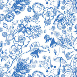 BERRYBLOSSOM BLUE PATTERN