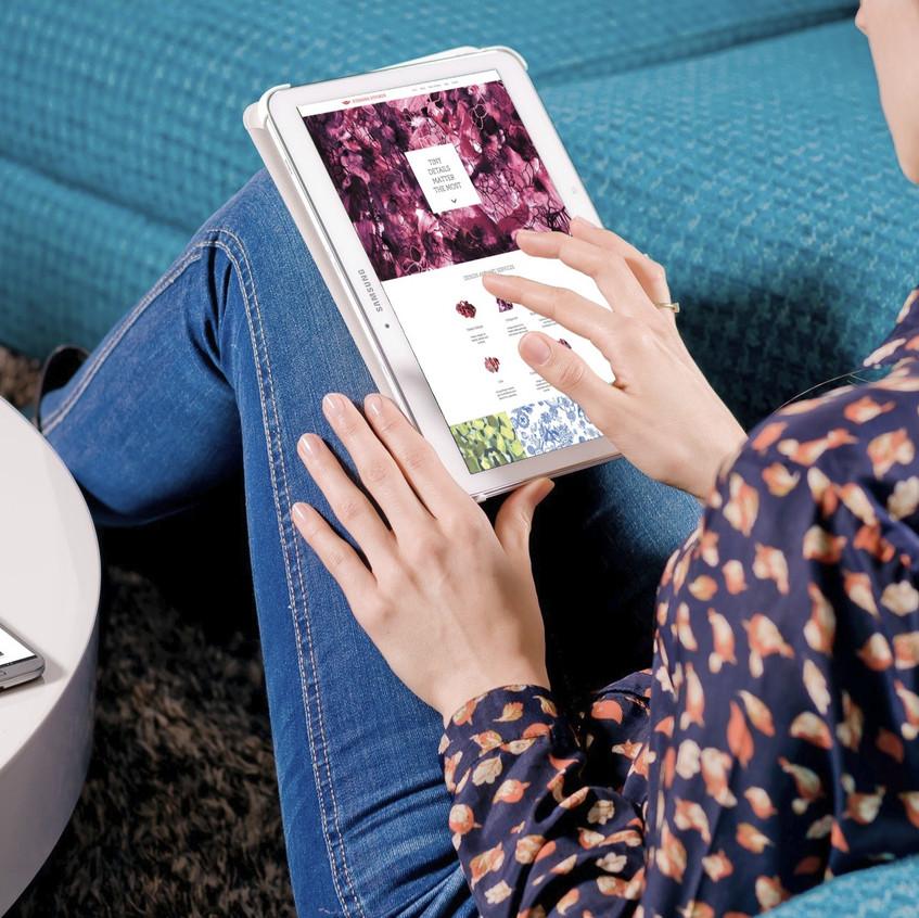 Susanna Sivonen tablet view