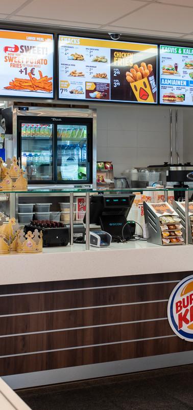 Burger King tilakuvaus