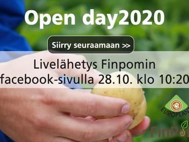 Open day2020 livelähetys