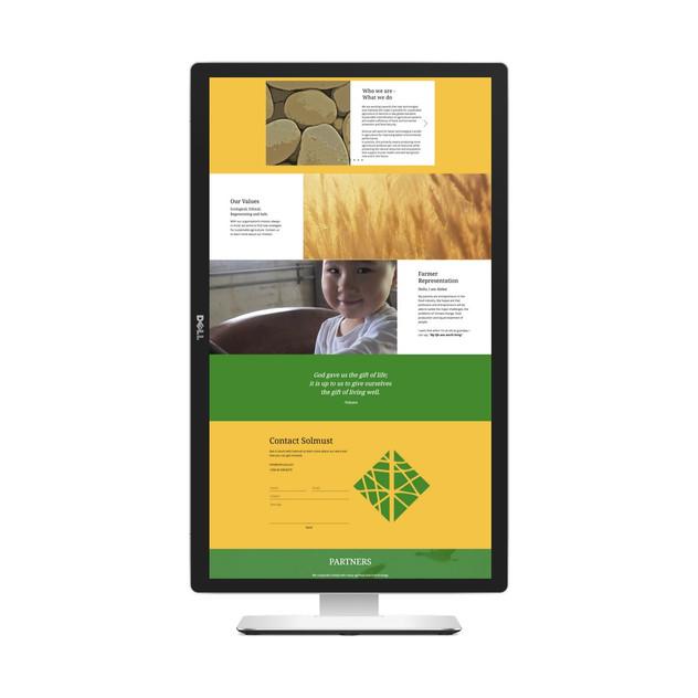 Solmust vertical website