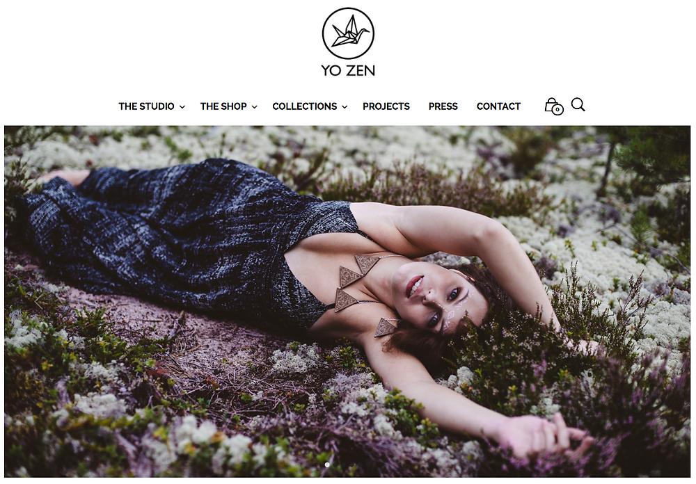 Kuvituskuva oululaisen korumerkin nettisivuille