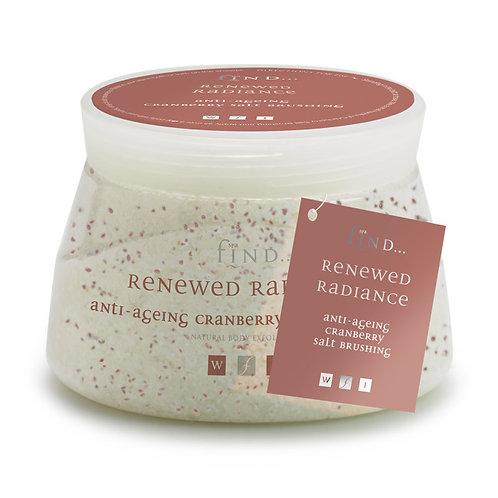 Spa Find Cranberry Salt Brushing