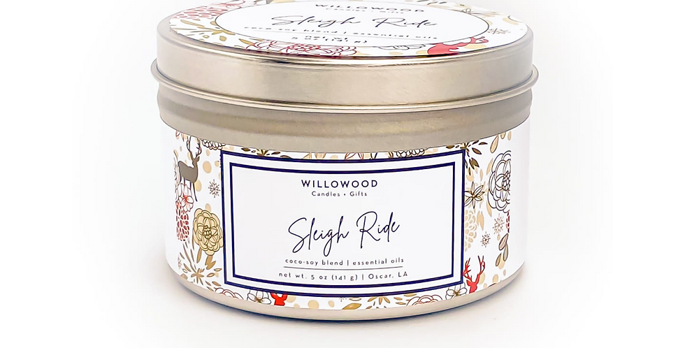 Sleigh Ride Scented Candle