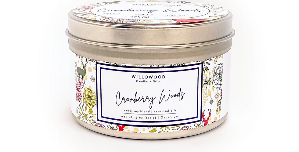 Cranberry Woods Scented Candle