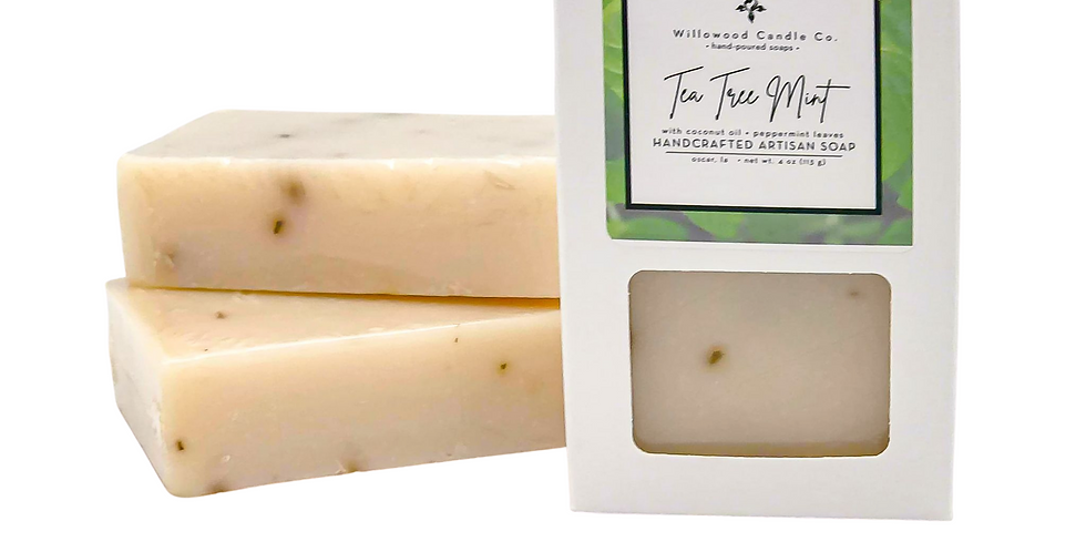 Tea Tree Mint Bar Soap