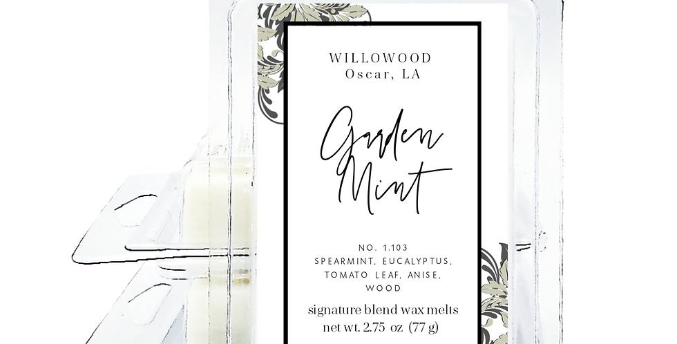 Garden Mint Scented Wax Melts