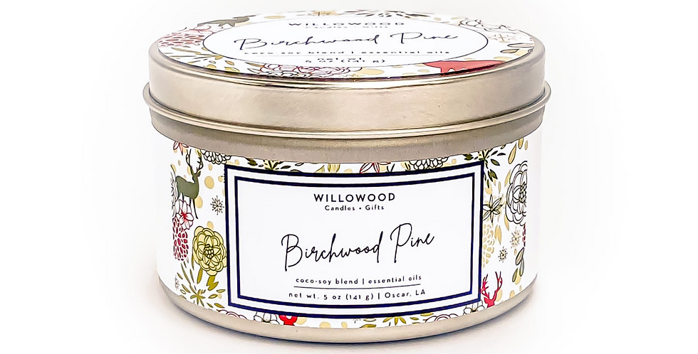 Birchwood Pine Scented Candle