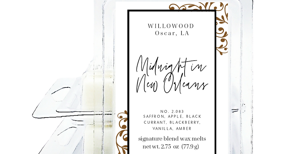 Midnight in New Orleans Scented Wax Melts for Warmer