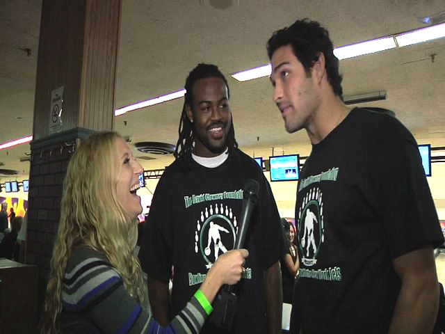 Mark Sanchez and David Clowney