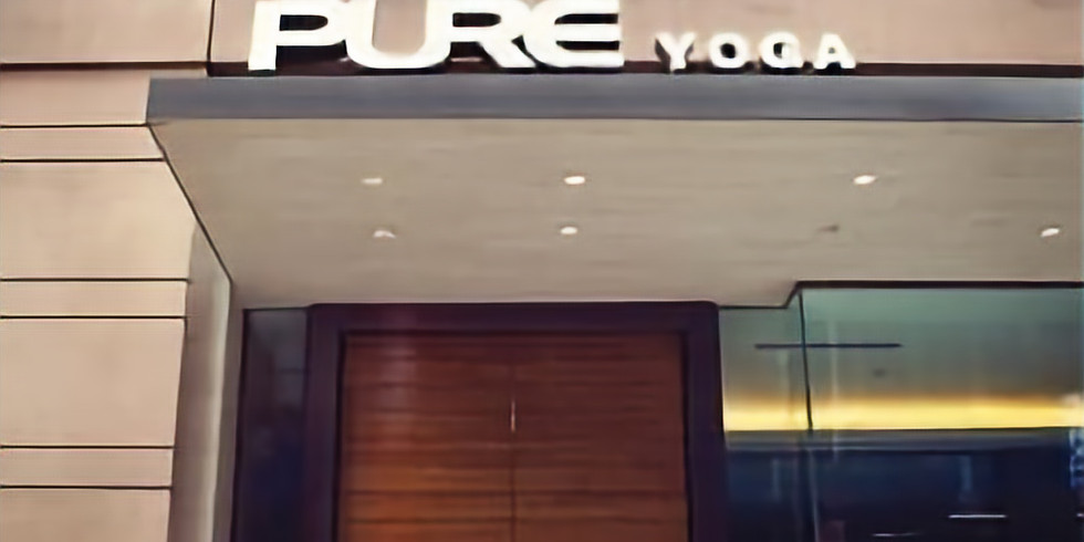 Pure Yoga East UES Book Event