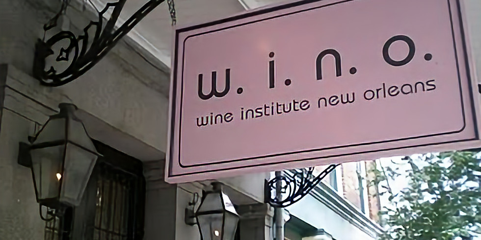 New Orleans Book Signing/Wine Tasting