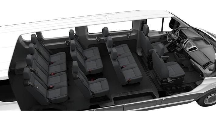 Standard minibus seating plan