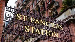 Coach Groups Arriving at St Pancras International Station