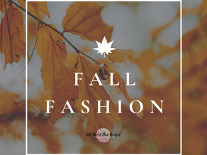 Fall Vibes: Our favorites to start this season
