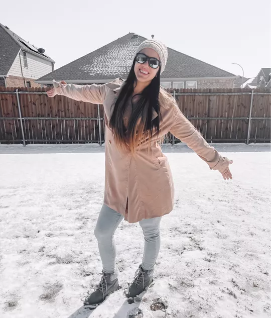 Snowy Day type of look!