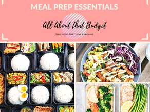 All About That Meal Prep: Part 1