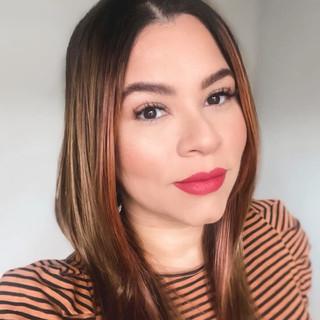 simple makeup application