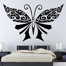 Large-Black-Butterflies-Wall-Decor-Bedro