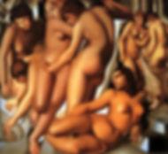 Tamara de Lampicka WOMEN BATHING.JPG