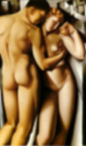 Tamara de Lempicka ADAM AND EVE.JPG