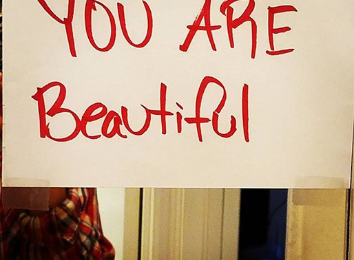 How to Love Yourself: Bathroom Mirror Signs