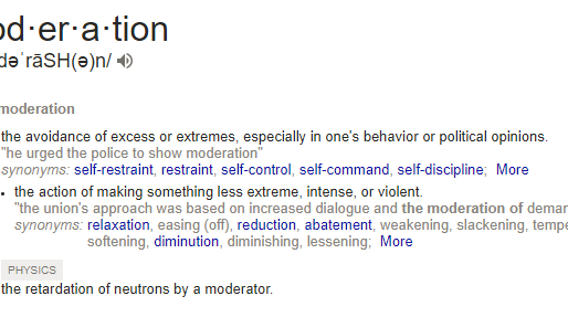 Is Moderation Always a Virtue?