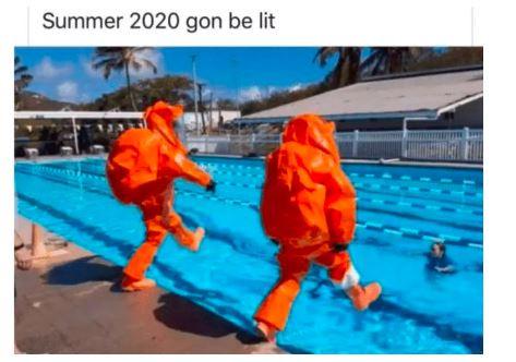 COVID-19 in Memes