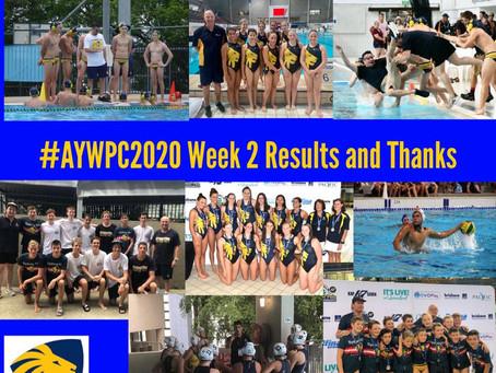 AYWPC 2020 WEEK 2 RESULTS