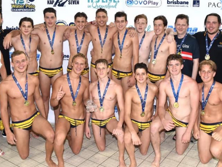 M16 BLUE GOLD MEDAL AYWPC 2020